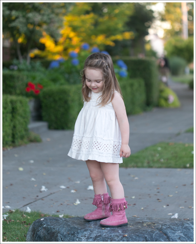 Blog BCBGMaxAzria Silk Top Blank NYC Leather Suede Shorts Steve Madden Ash Sandals-19