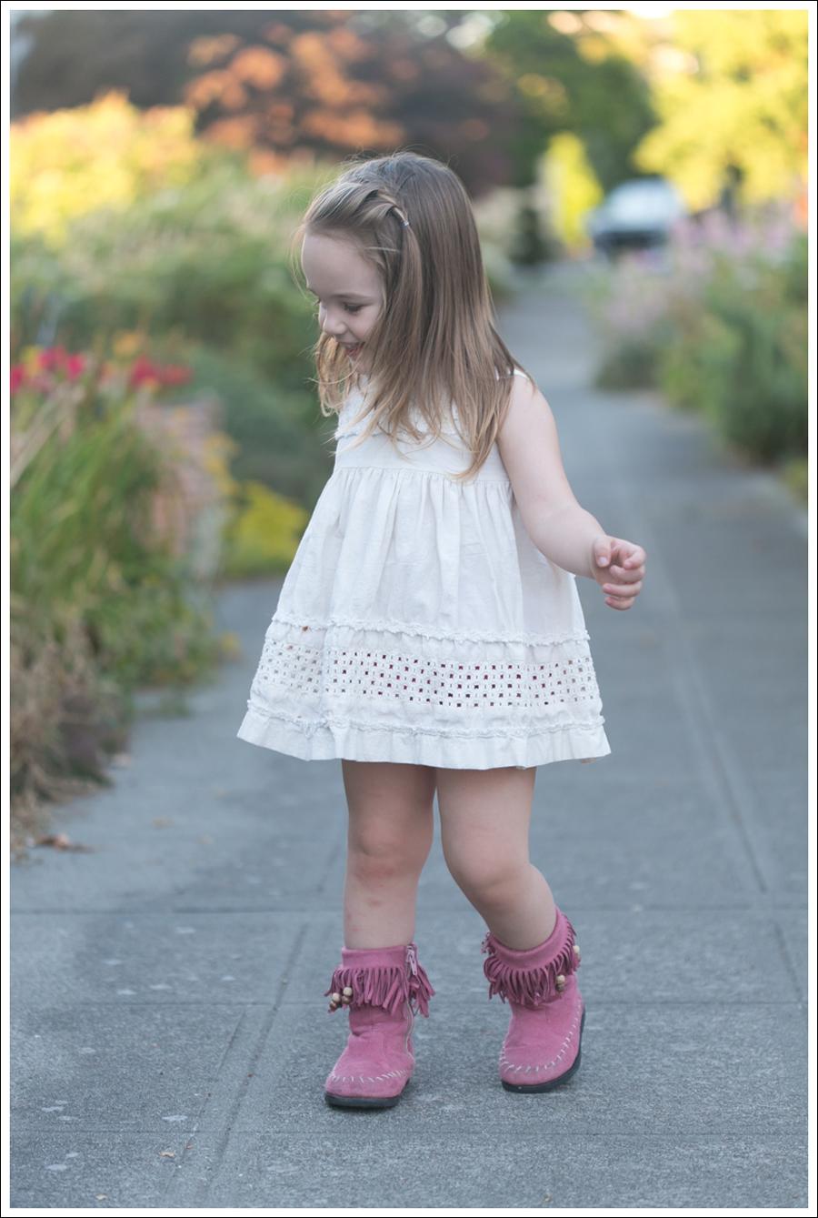 Blog BCBGMaxAzria Silk Top Blank NYC Leather Suede Shorts Steve Madden Ash Sandals-9