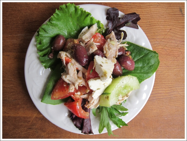 Blog greek chicken salad