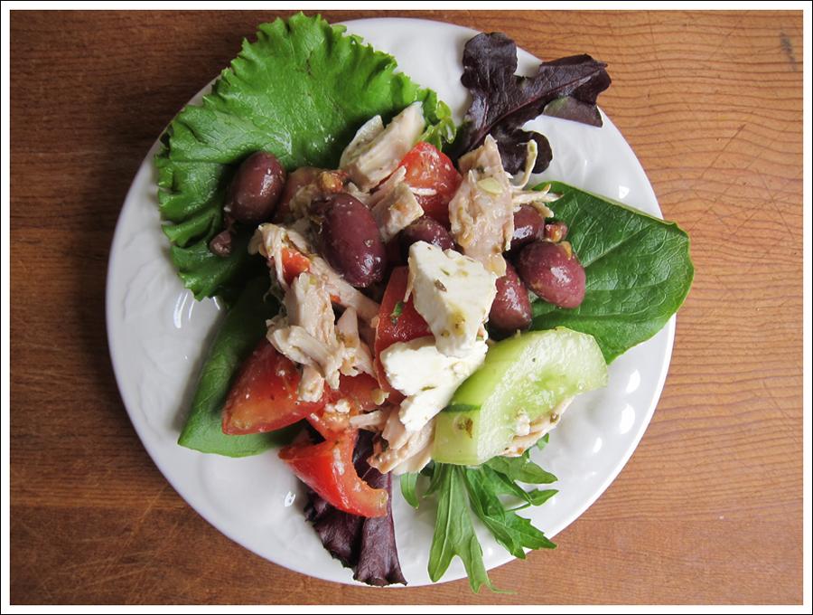 Blog greek chicken salad