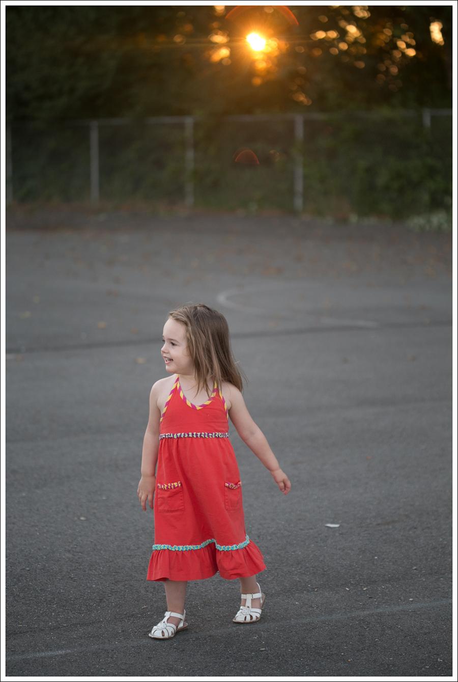 Blog Hanna Andersson Orange Halter Dress Stride Rite White Sandals-1