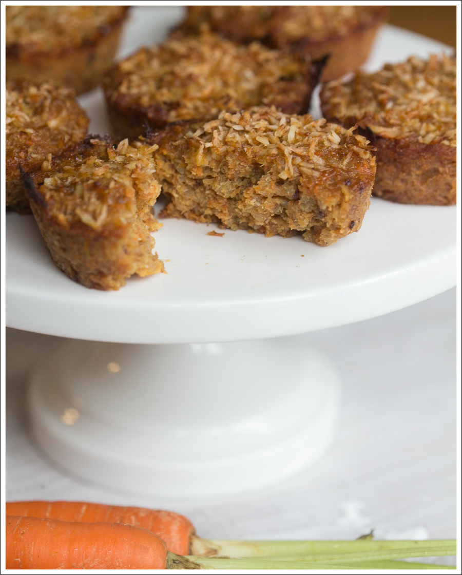 Blog Healthy Paleo Carrot Cake Muffins-3