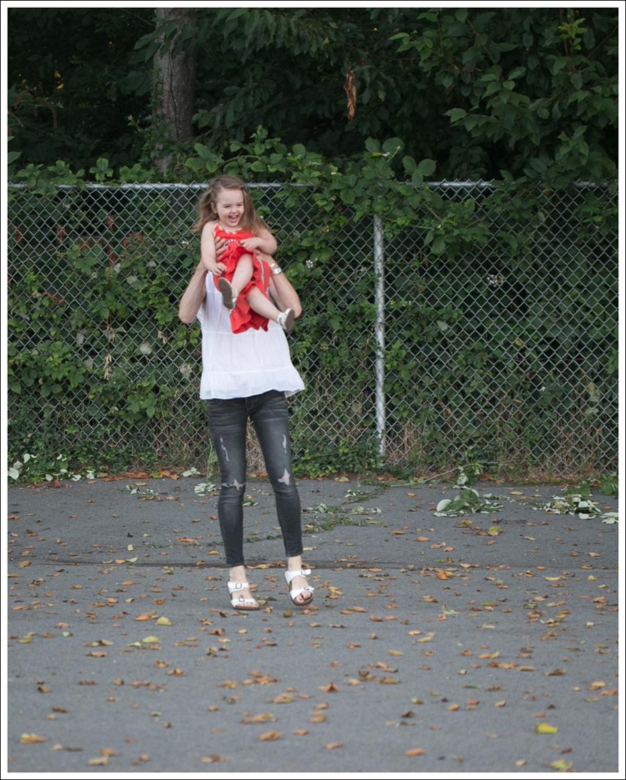 Blog Talbots Boho top Paige Destroyed Skinny Betula White Birkenstocks-4
