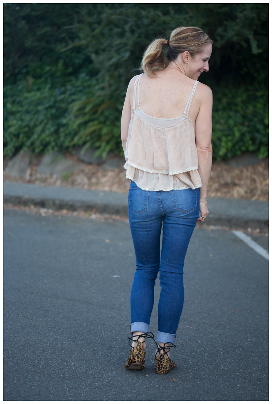 Blog Zara Boho Top J Brand Skinny Karma Zara Leopard Tie Sandals-3