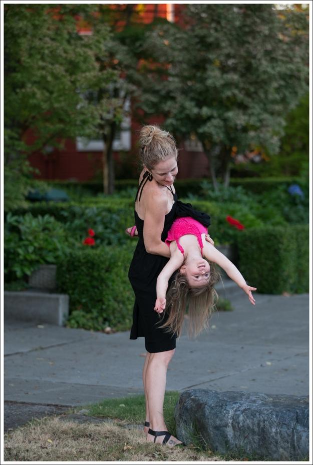 Blog Black Halter Cascade Dress ShoeMint Zandra-5
