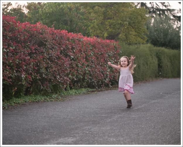 Blog Gap denim Jacket Old Navy purple pink Boho Dress Self Esteem Brown Booties-3