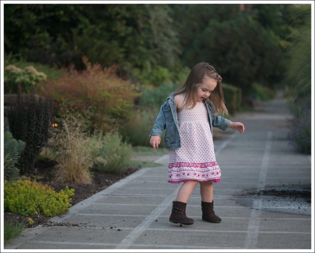 Blog Gap denim Jacket Old Navy purple pink Boho Dress Self Esteem Brown Booties-5