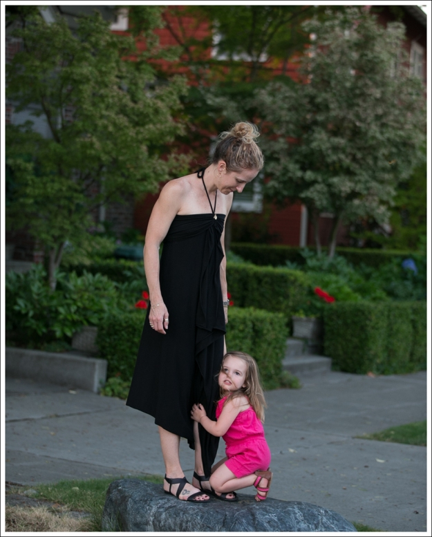 Blog outtake Black Halter Cascade Dress ShoeMint Zandra-13