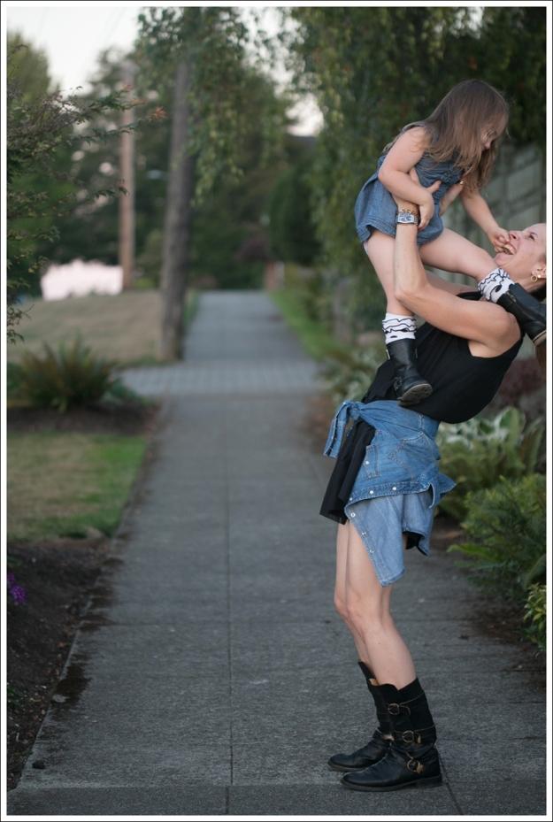 Blog outtake Twenty8Twelve Black Dress Gap Denim Shirt Fiorentin and Baker Boots-12