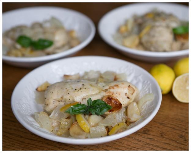Blog Paleo Whole30 40 Clove Garlic Lemon Chicken-1
