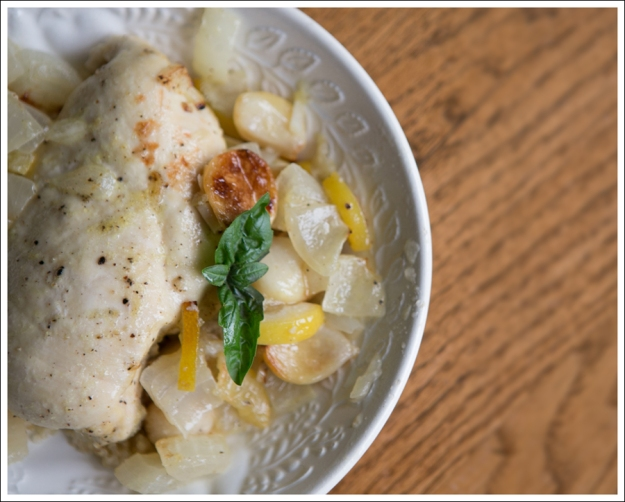 Blog Paleo Whole30 40 Clove Garlic Lemon Chicken-3