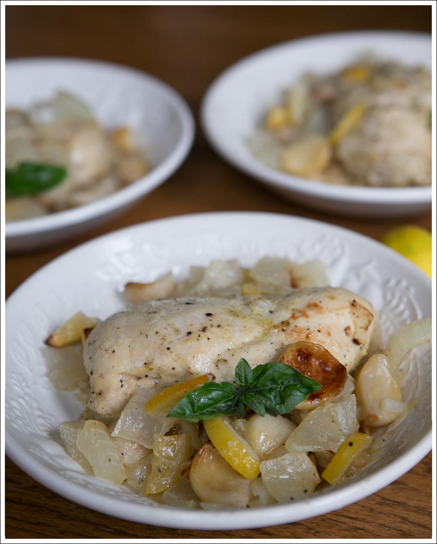 Blog Paleo Whole30 40 Clove Garlic Lemon Chicken-4