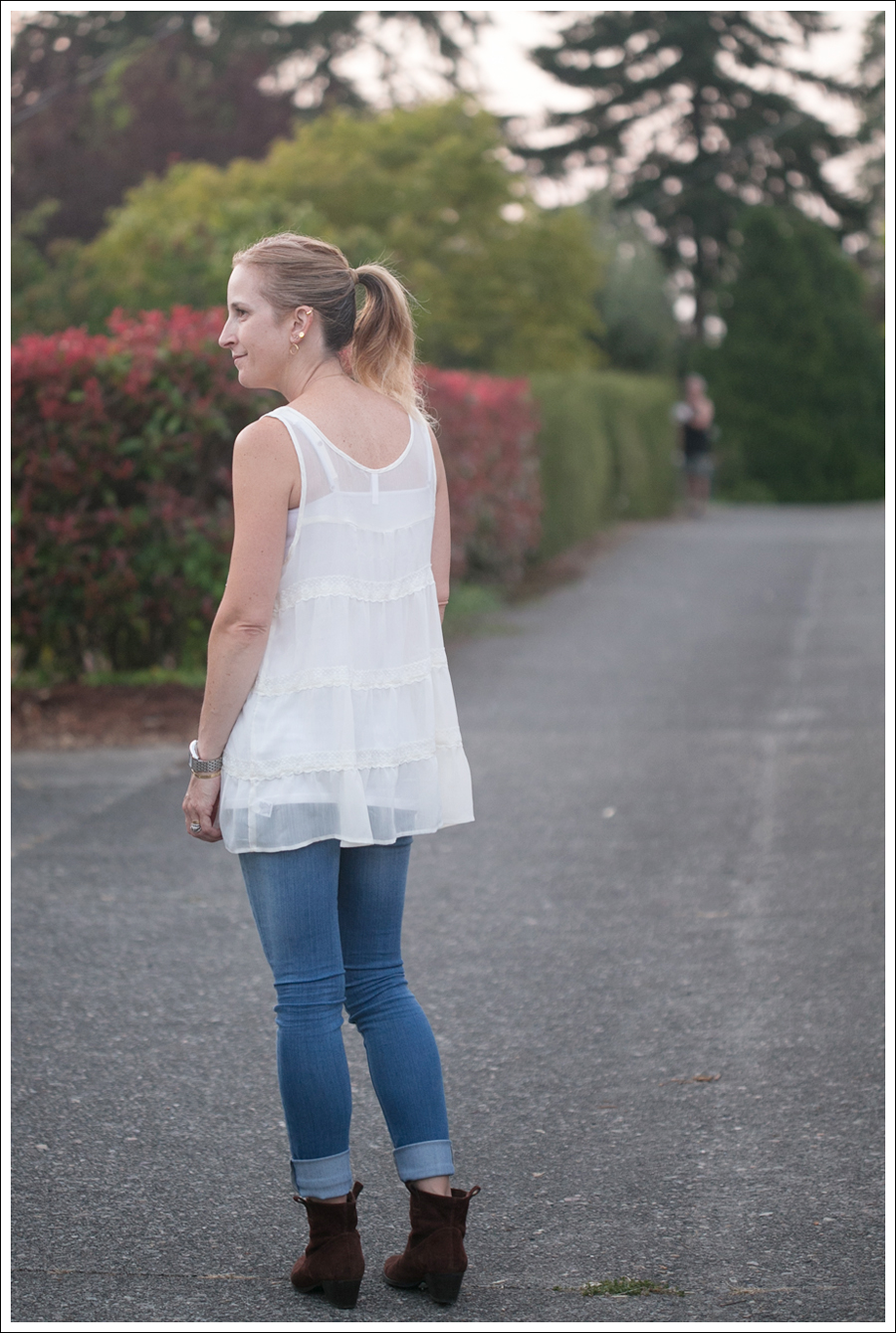 Blog Xhiliration Cream Boho Top Genetic Denim The Shane Nine West Booties-2