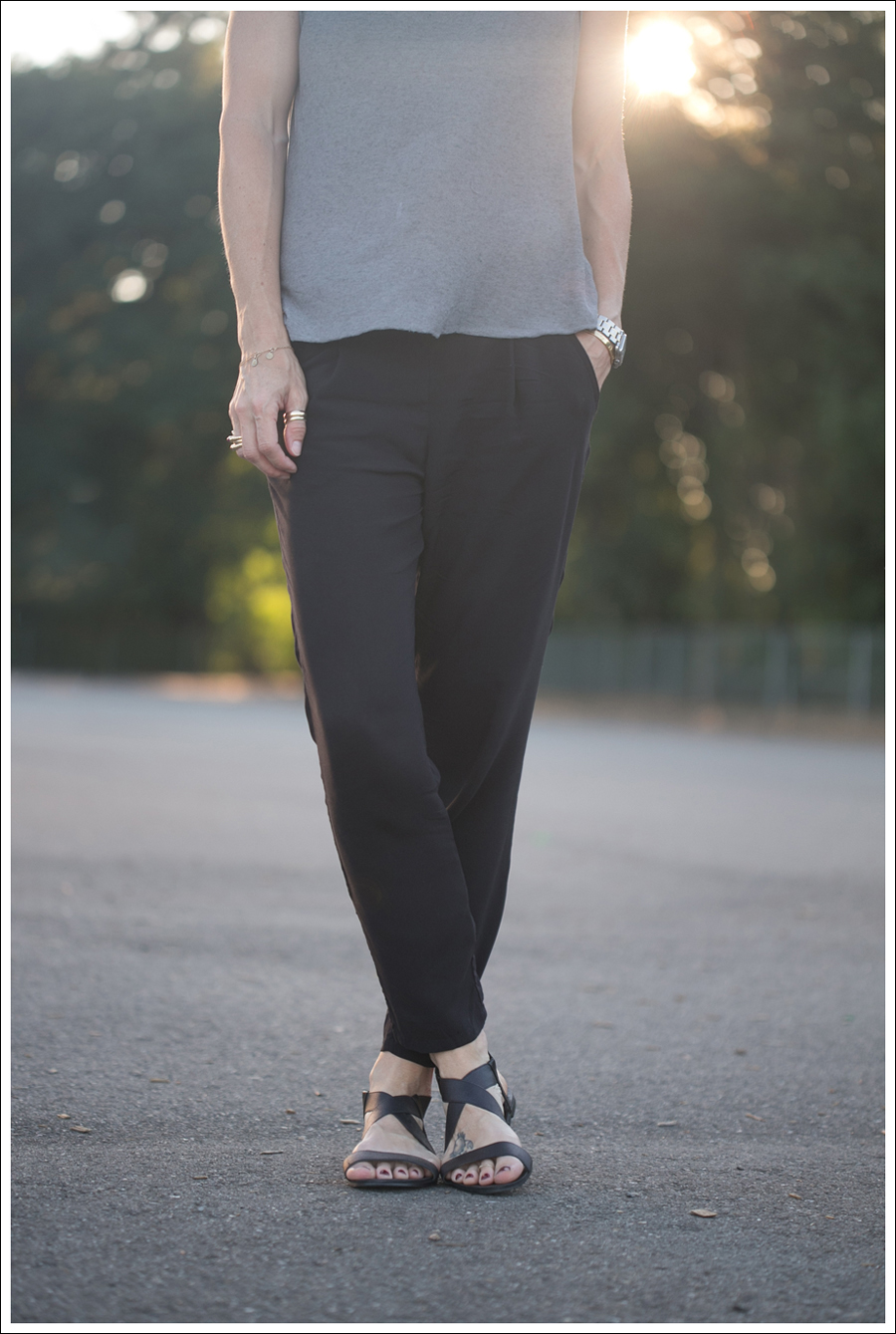 Blog Zara Tee Free People Easy Pleat Pant ShoeMint Zandra-2