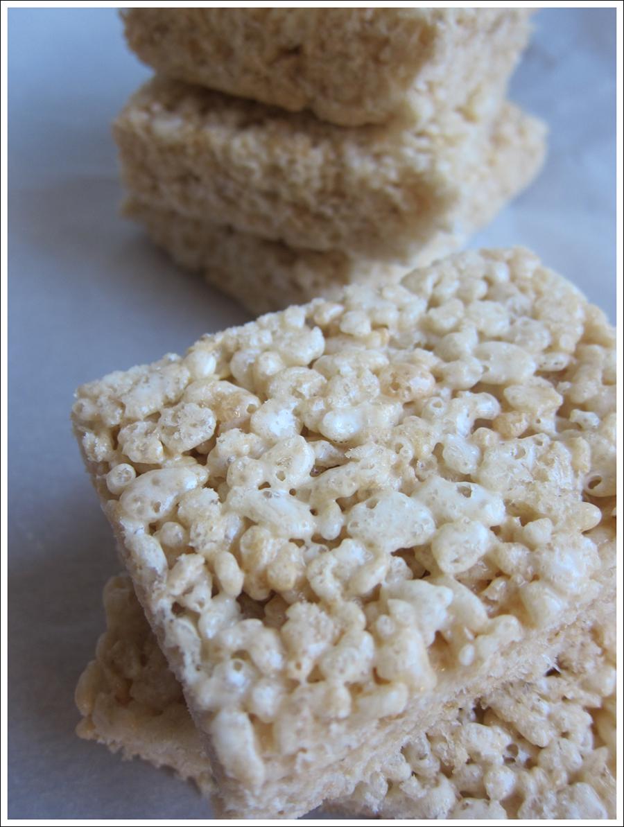 Blog classic rice crispy treats