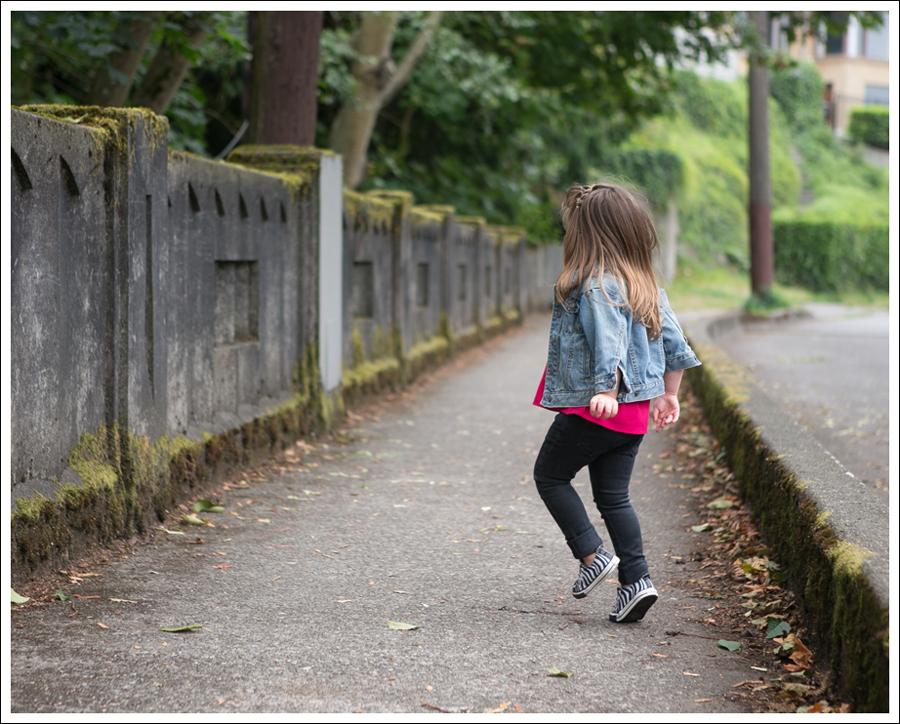 Blog Gap Jean Jacket Gap Ruffled Pink Top Peek Black Jeans Zebra Converse-3