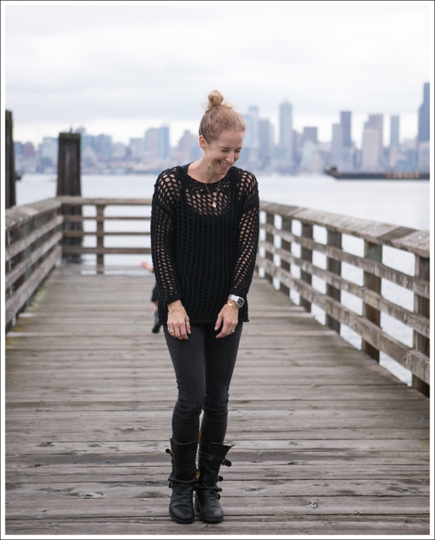 Blog Joie Loose Knit Sweater DL1961 Emma Wick Fiorentini Baker 7040 Boot-1