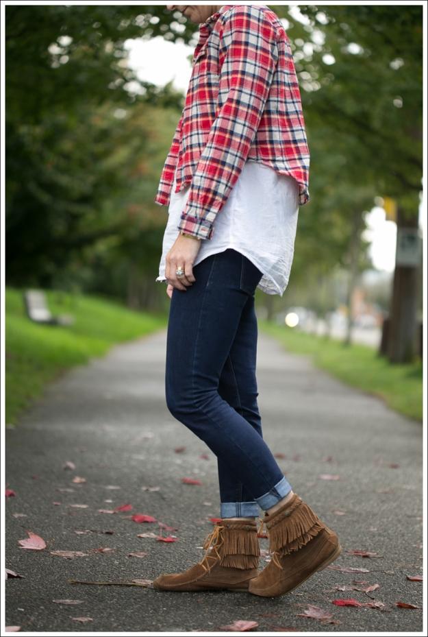 Blog Oxford Trunk Flannel HM Button down DL1961 Emma Cellar Minnetonka Booties-2