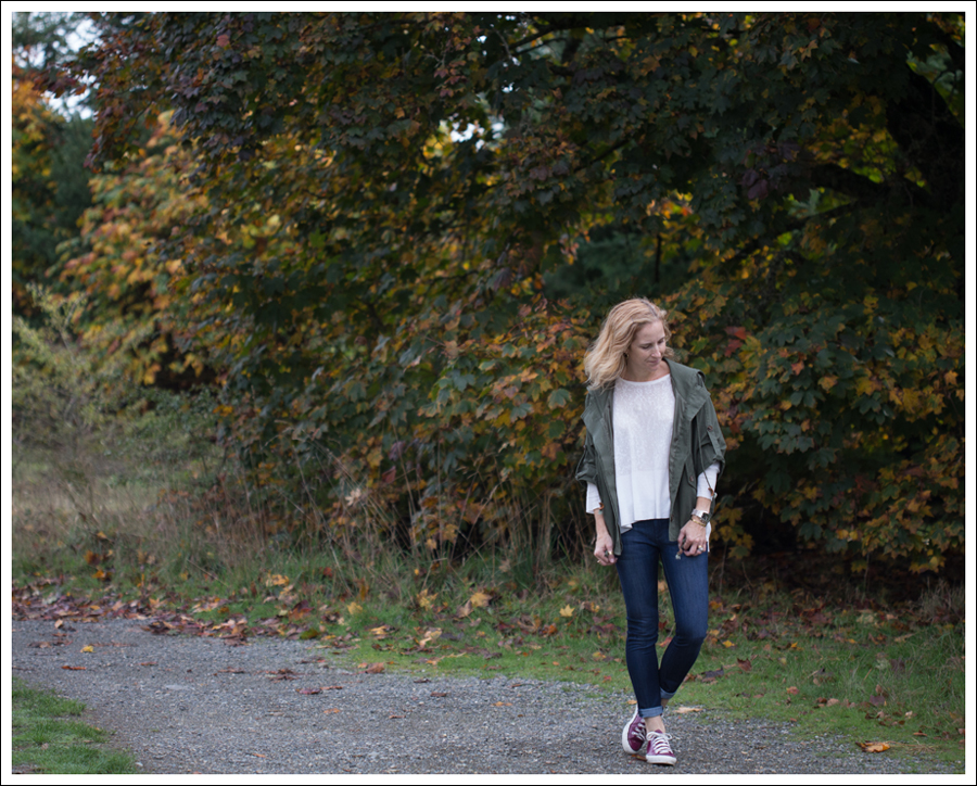 2 Blog StyleMint Green Parka Zara Swing Tee DL1961 Emma Bloom Pink Converse-1