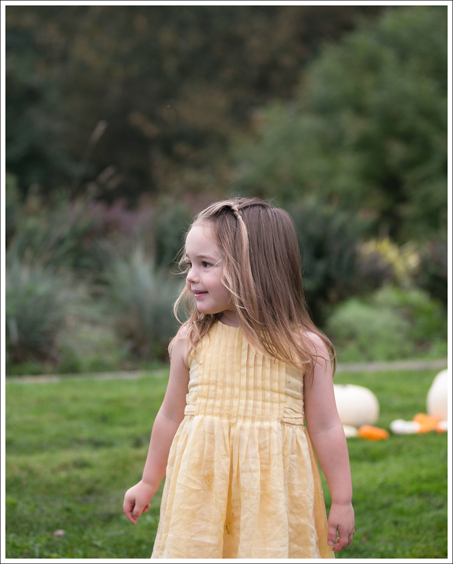 Blog Baby Gap Yellow Dress Osh Kosh Leopard Booties-5