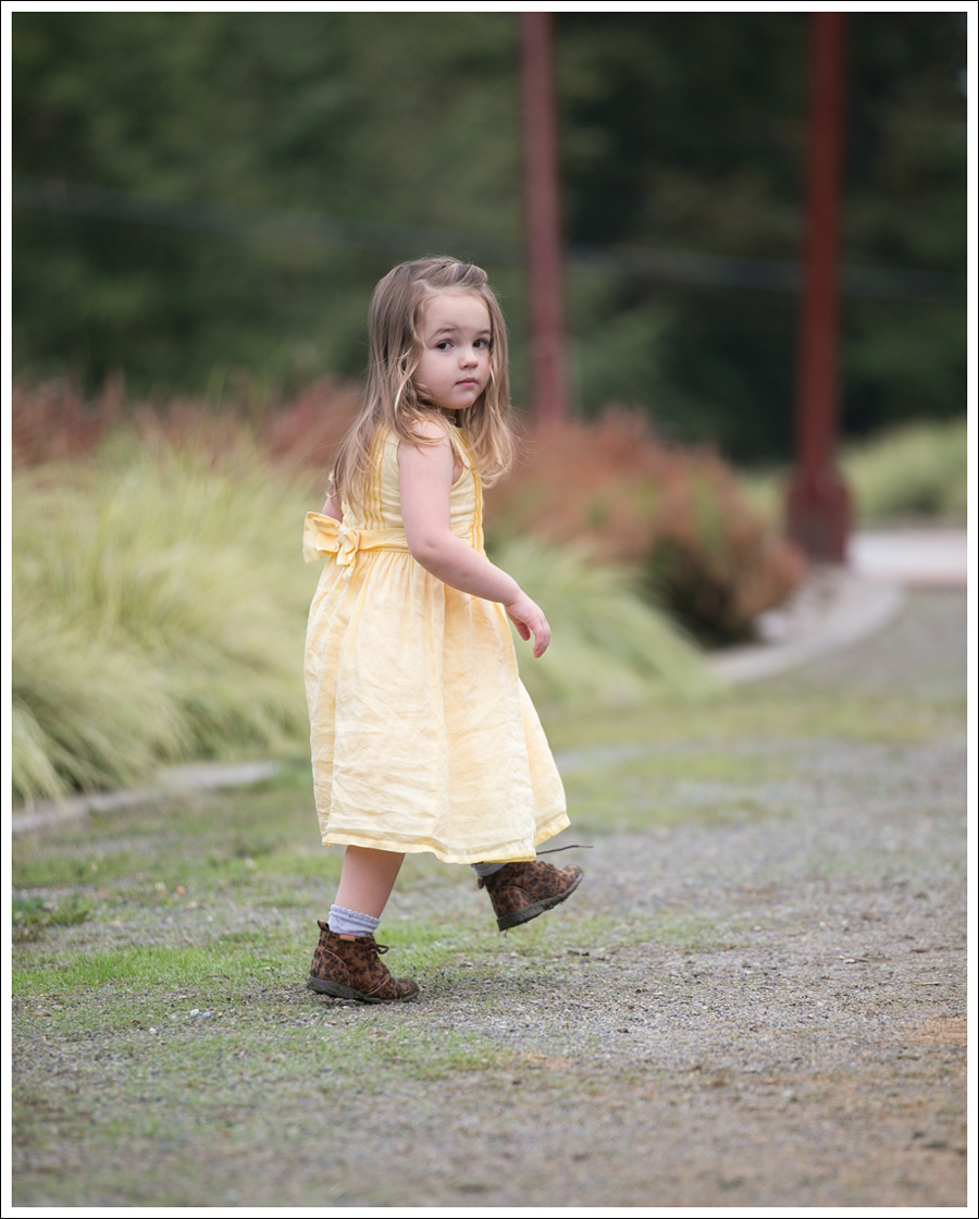 Blog Baby Gap Yellow Dress Osh Kosh Leopard Booties-6