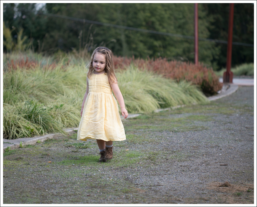 Blog Baby Gap Yellow Dress Osh Kosh Leopard Booties-7