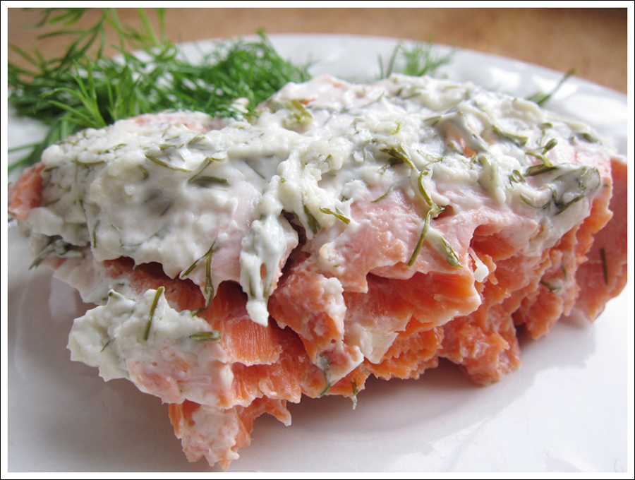 Blog dill cream salmon