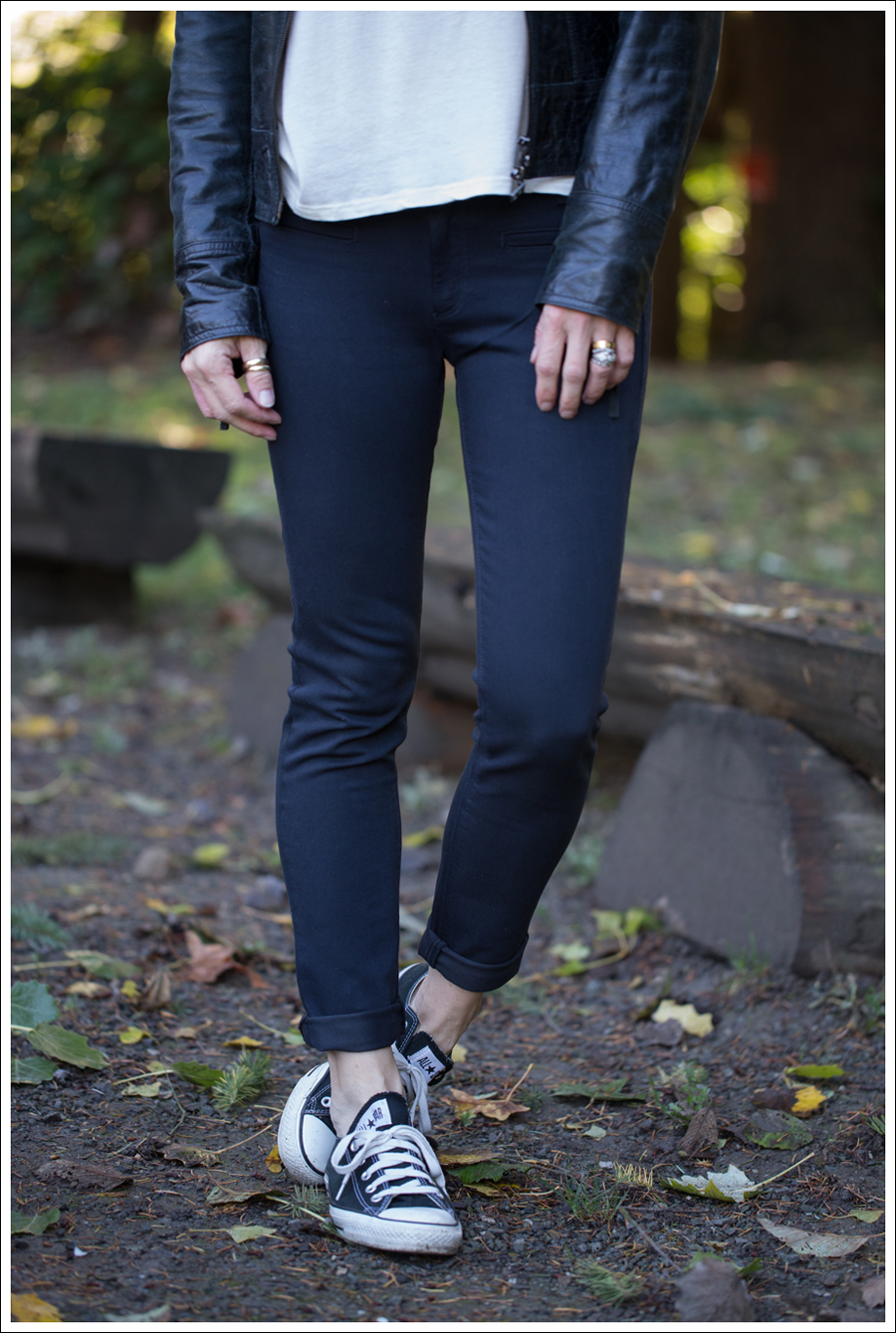 Blog Doma Leather Jacket StyleMint tee DL1961 Emma Denver Black Converse-2