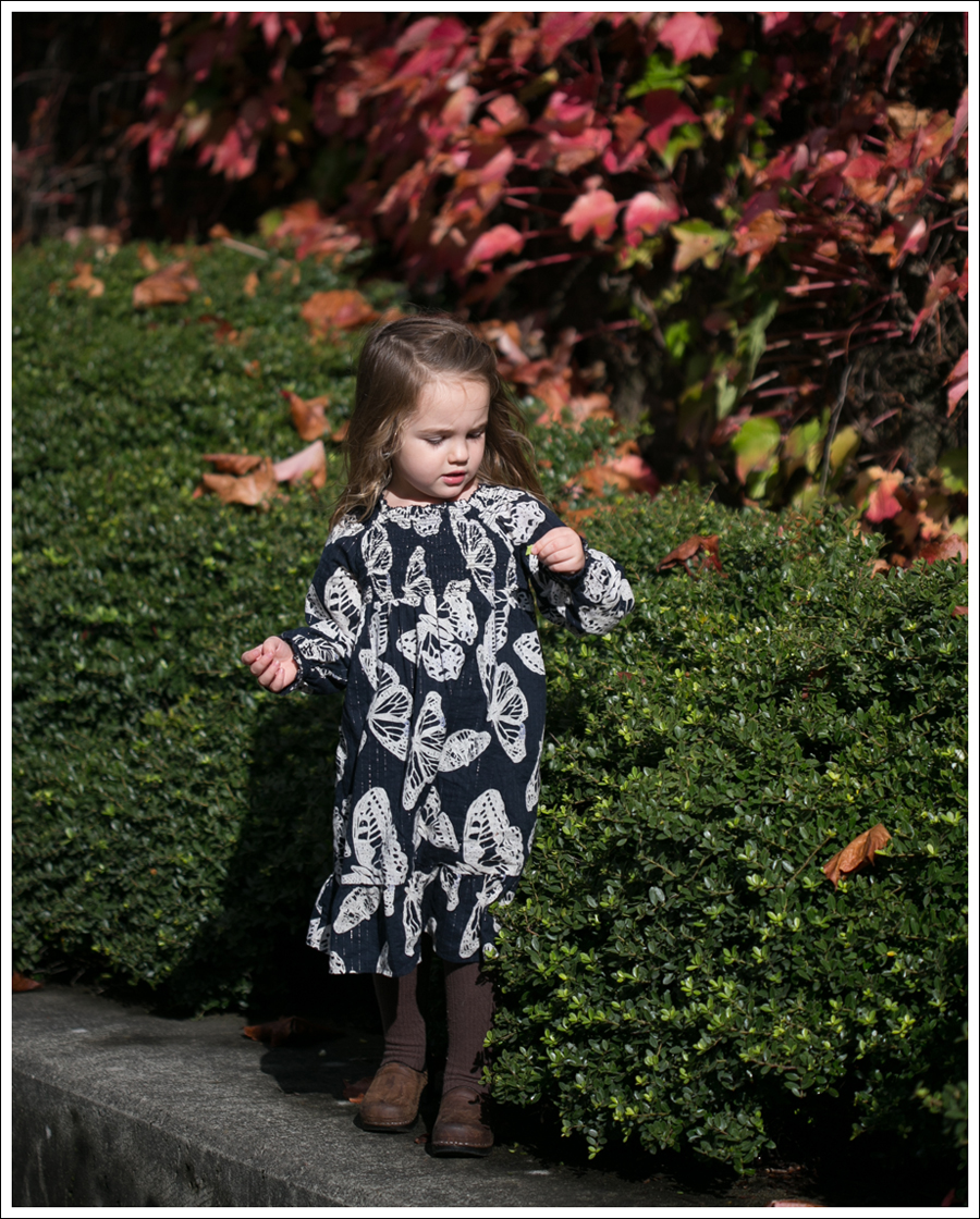 Blog Gap Butterfly Boho Dress Sanita Brown Toddler Clogs-3