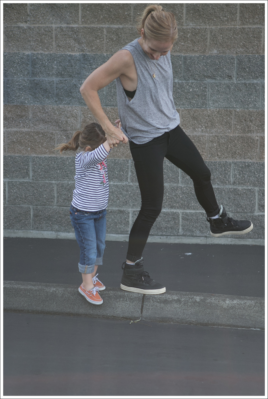 Blog HM Muscle Tee DL1961 Emma in Riker All Saints Spitagields Leather High Tops-7