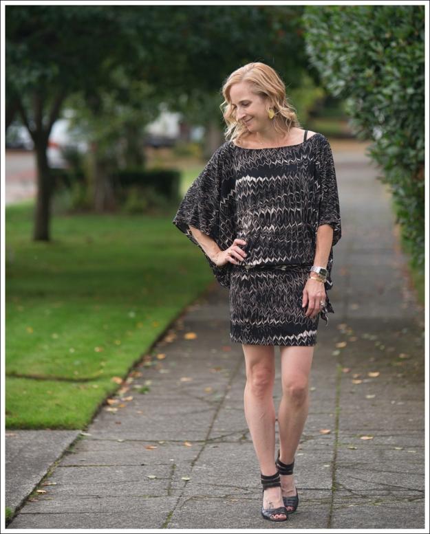 Blog Karen Zambos Dress Nine West Heels-1