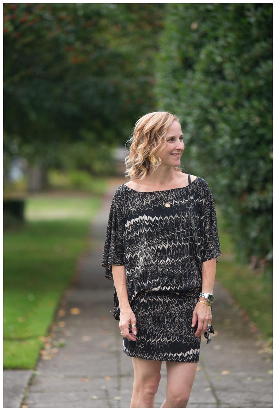 Blog Karen Zambos Dress Nine West Heels-2