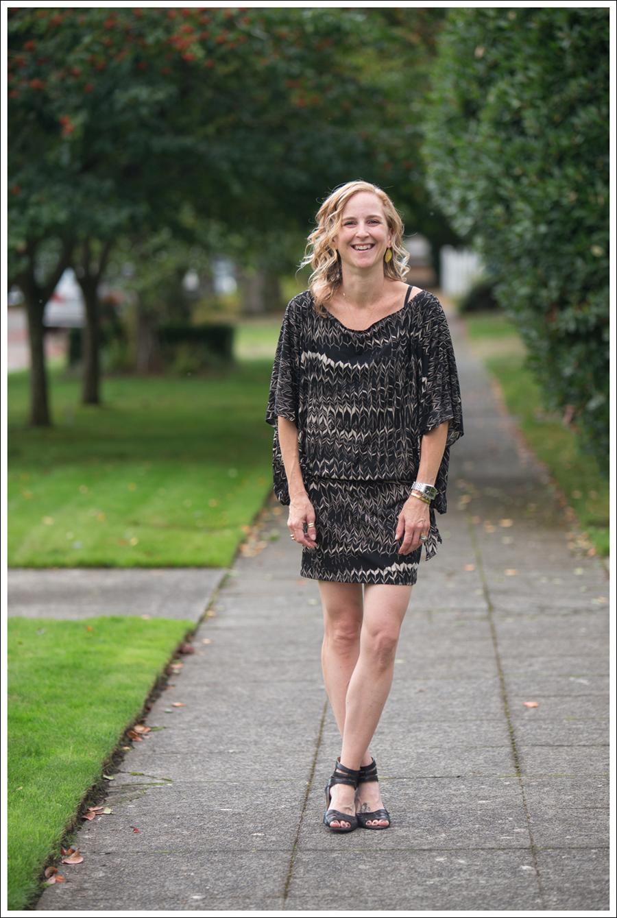 Blog Karen Zambos Dress Nine West Heels-4