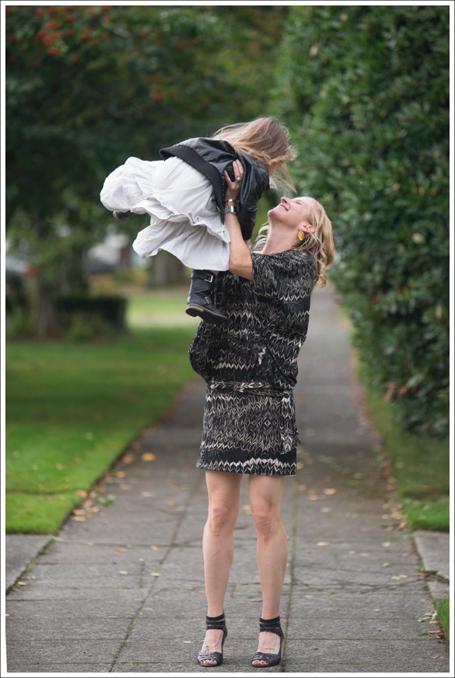 Blog Karen Zambos Dress Nine West Heels-6