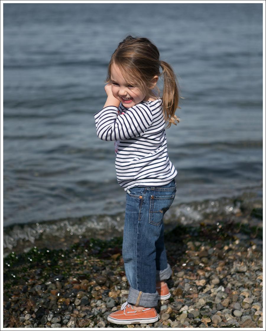 Blog Mini Boden Striped Flower Top 7FAM Standard Jeans Orange Sperry Topsiders-5