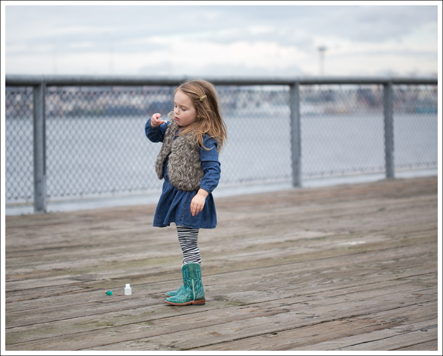Blog Old Navy Faux fur Vest Old Navy Drop Waist Denim dress Carters Zebra Leggings Corral Toddler Cowboy Boots-1