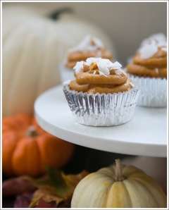 Blog Paleo Pumpkin Muffin Cupcakes with Paleo Pumpkin Frosting-1