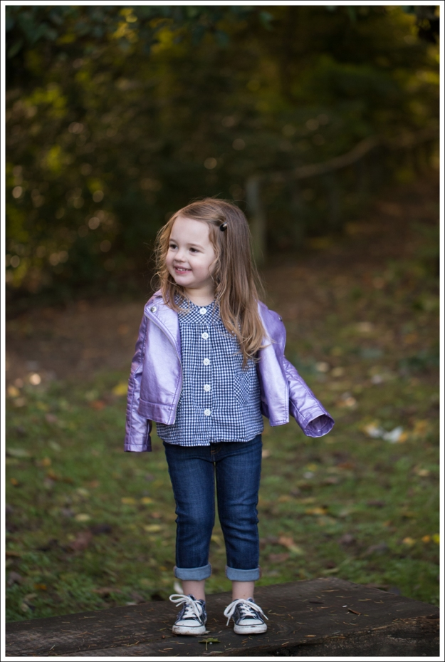 blog purple faux leather Jacket Hanna Andersson Checked blouse DL1961 Harper Pataky Black Toddler Converse-2