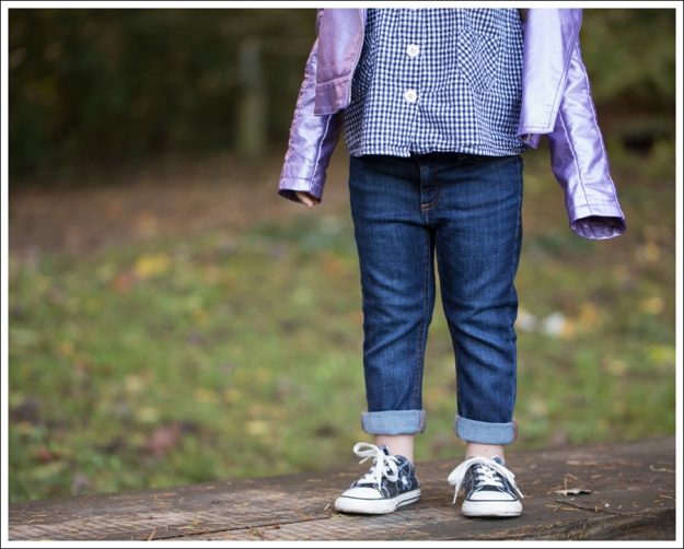 blog purple faux leather Jacket Hanna Andersson Checked blouse DL1961 Harper Pataky Black Toddler Converse-4