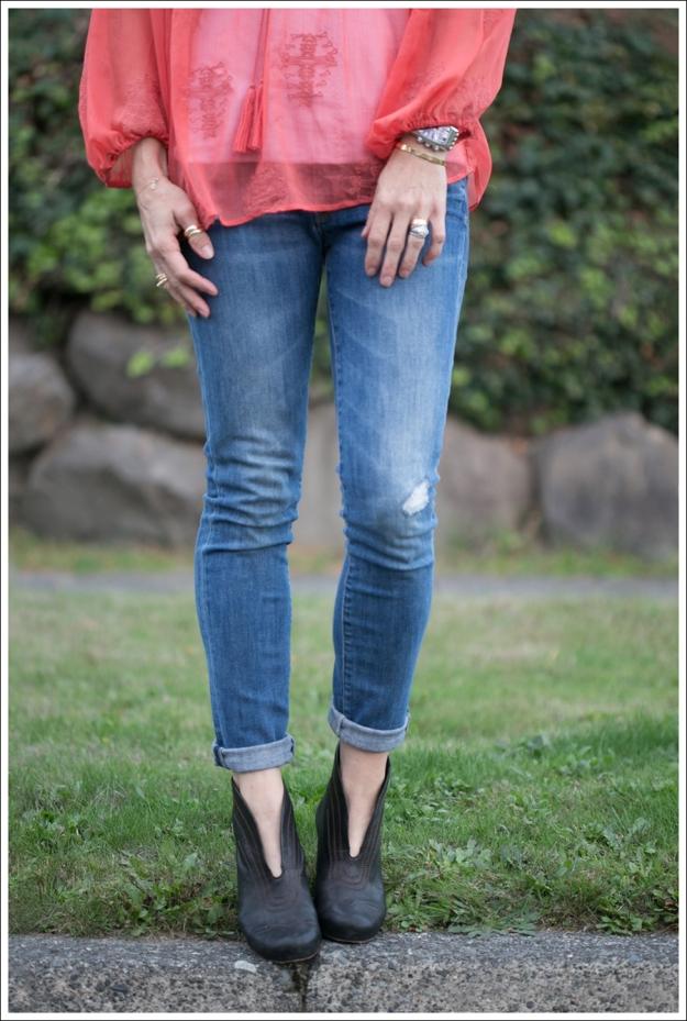 Blog Sanctuary Boho Top Vince Destroyed Skinny Jeans Frye Lisa Short Stitch Booties-2