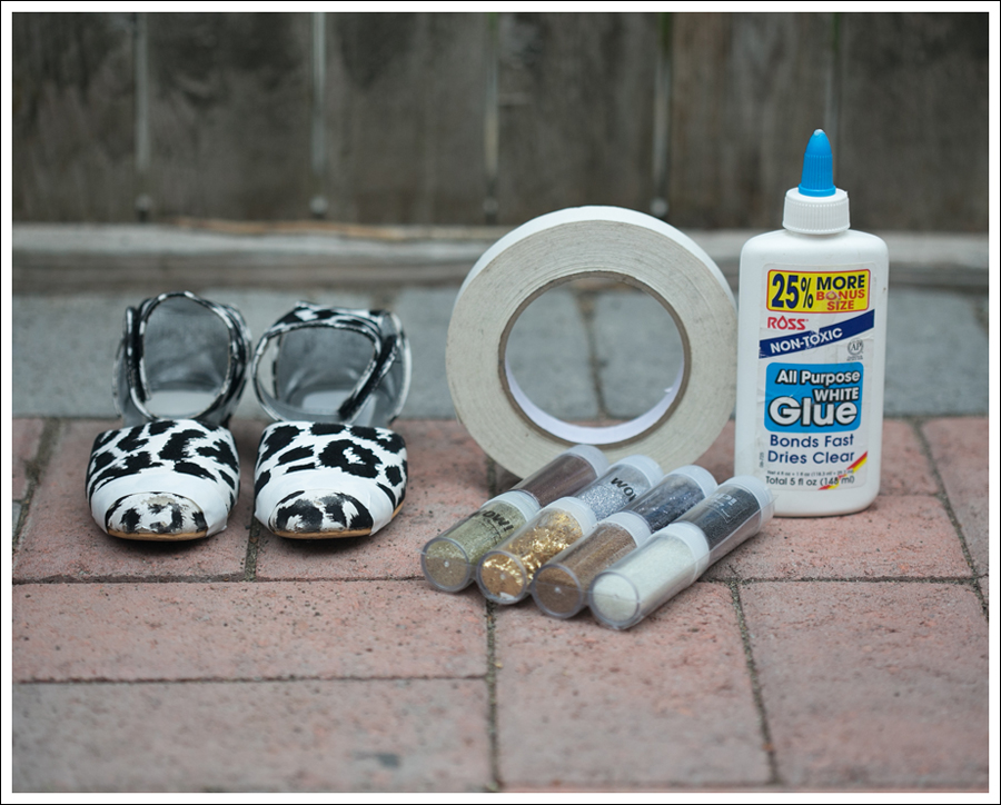 Blog DIY Glitter Toe Shoes-4
