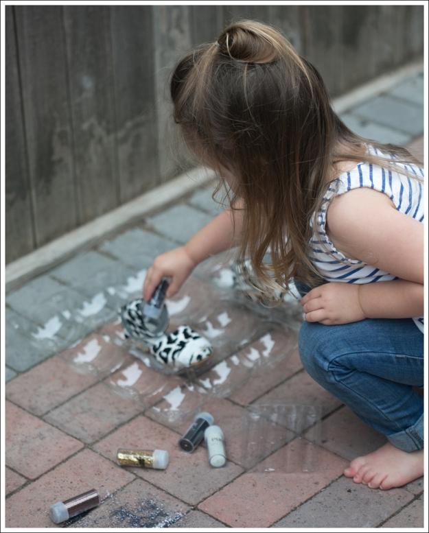 Blog DIY Glitter Toe Shoes-6