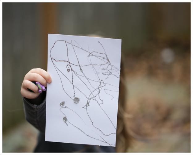 Blog DIY Toddler Glitter Thank You Card Art-1