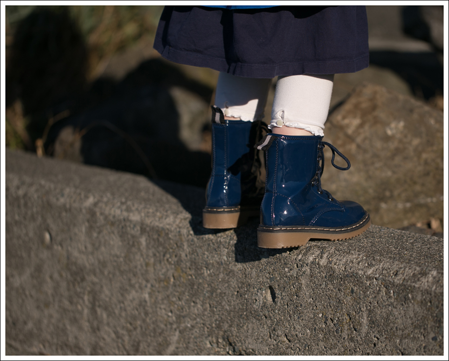 Blog Gap Kids Jacket Old Navy Cardigan Hanna Andersson Blue Tiered Dress Zulily Link Alyson Boots-2