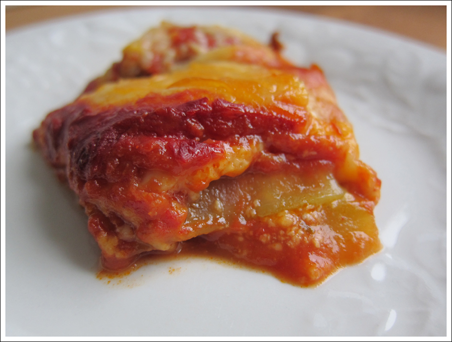 Blog grain free lasagne
