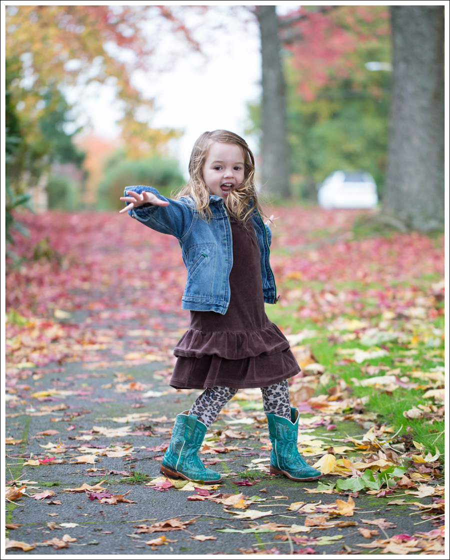 Blog Osh Kosh Jean Jacket Gap brown Velour Dress Zulily Leopard Tights Corral Turquoise Toddler Boots-3