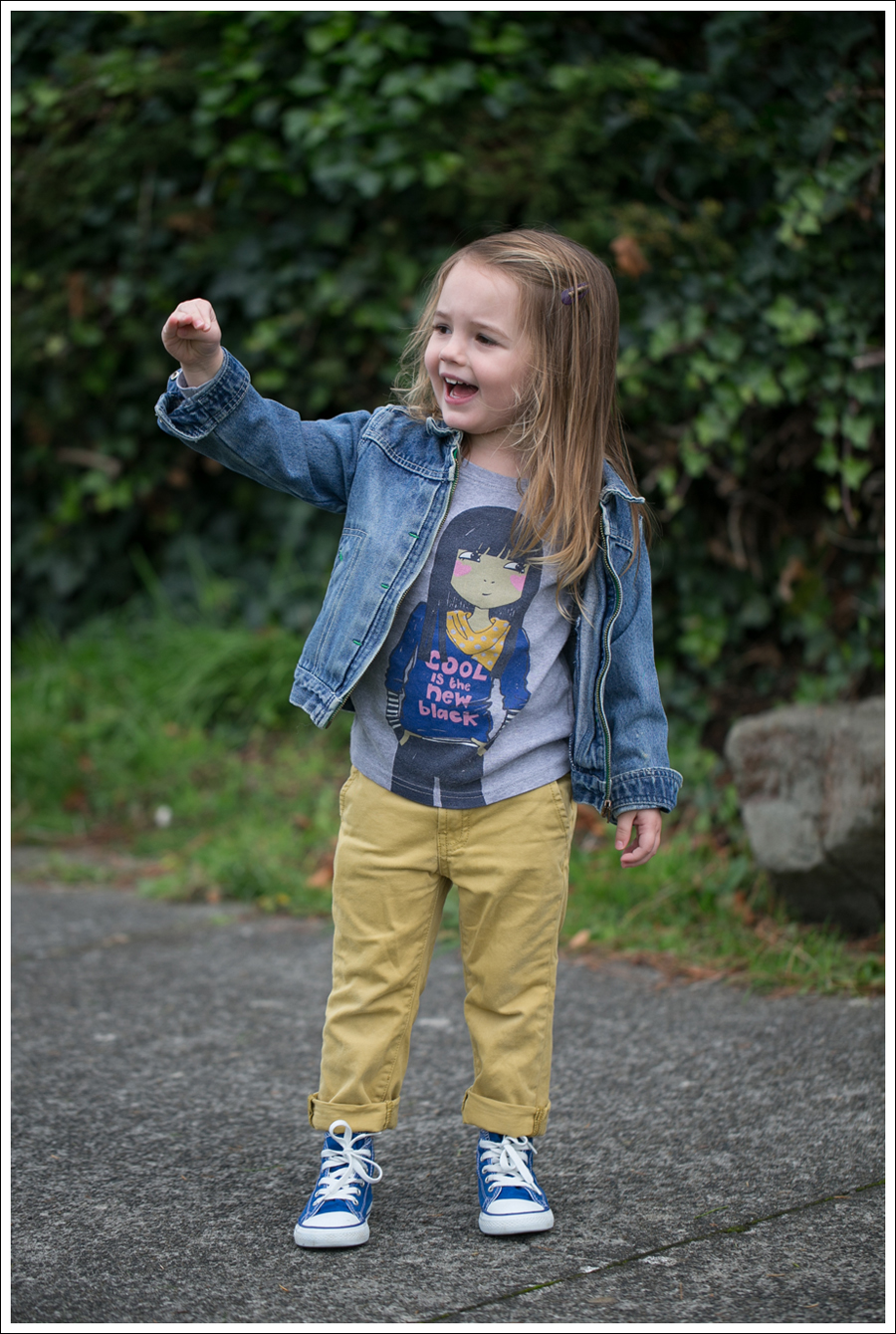 Blog Osh Kosh Jean Jacket Mini Boden Cool Tee 7FAM mustard jeans Blue Toddler Converse Hight Tops-1
