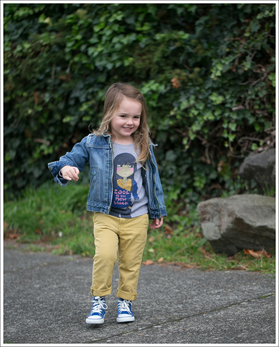 Blog Osh Kosh Jean Jacket Mini Boden Cool Tee 7FAM mustard jeans Blue Toddler Converse Hight Tops-2