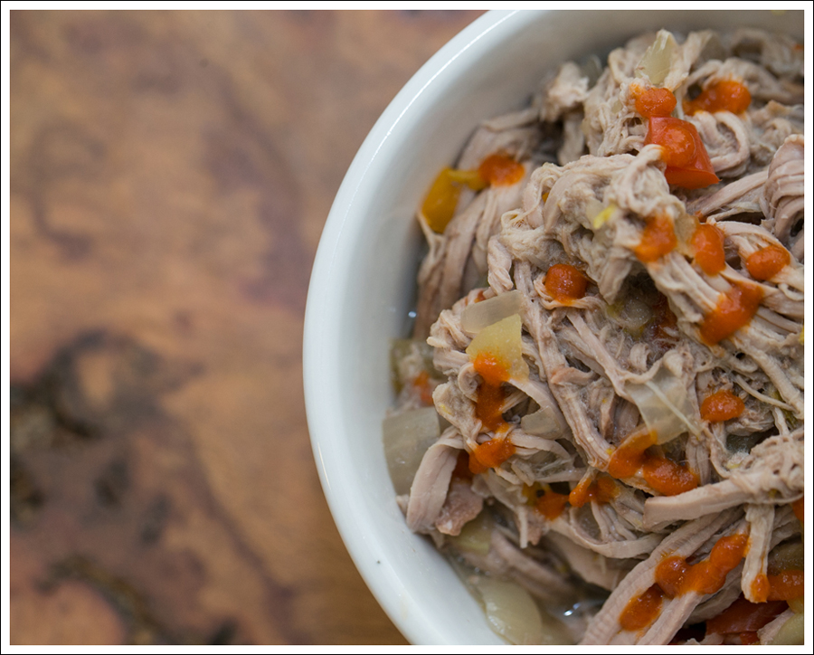 Blog Paleo Crock Pot Slow Cooker Pulled Pork with Apples Onions and Peppers-3