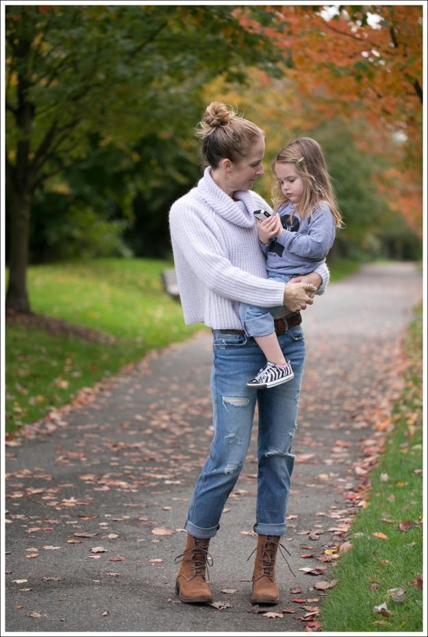 Blog Zara Lilac Chunky Knit Turtleneck Genetic Masen Ex Boyfriend Lace Up boots-4